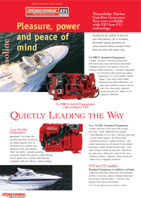 Marine Gas Generators by Westerbeke (Click for PDF)